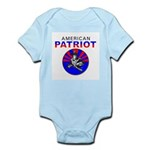 American - American Patriot Infant Creeper