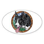 Fawn's Window Oval Sticker