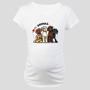 Love Labradoodles Maternity T-Shirt