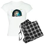 Spaceship Abby Women's Light Pajamas