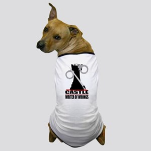 Castle: Writer of Wrongs Dog T-Shirt