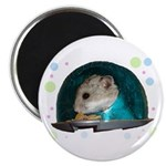 """Spaceship Abby 2.25"""" Magnet (100 pack)"""
