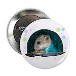 "Spaceship Abby 2.25"" Button (100 pack)"
