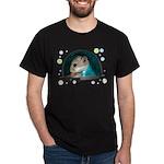 Spaceship Abby Dark T-Shirt