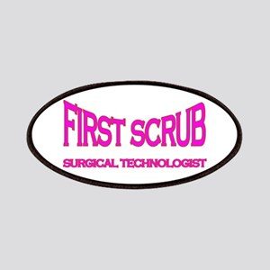 1st Scrub -pink Patches