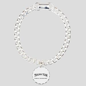 Trauma Team ST - black Charm Bracelet, One Charm