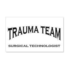 Trauma Team ST - black 22x14 Wall Peel