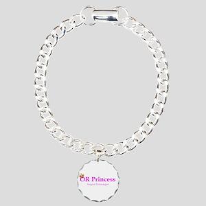 OR Princess ST Charm Bracelet, One Charm