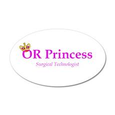 OR Princess ST 22x14 Oval Wall Peel