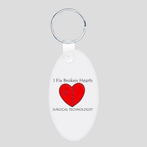 Heart Mender ST Aluminum Oval Keychain