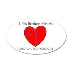 Heart Mender ST 22x14 Oval Wall Peel