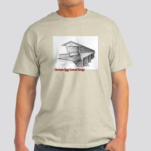 Clarkson Legg Covered Bridge Light T-Shirt