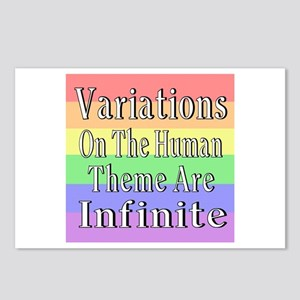 Variations On Humanness Postcards (Package of 8)