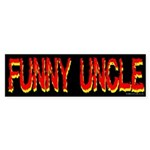 Funny Uncle Bumper Sticker