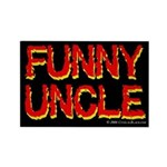 Funny Uncle Rectangle Magnet