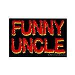 Funny Uncle Rectangle Magnet (100 pack)