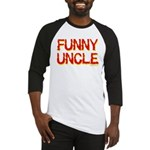 Funny Uncle Baseball Jersey