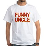 Funny Uncle White T-Shirt