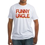 Funny Uncle Fitted T-Shirt