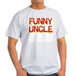 Funny Uncle Ash Grey T-Shirt
