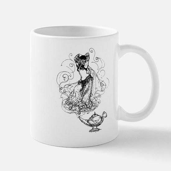 Cute Genie lamp Mug