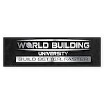 World Building University Bumper Sticker