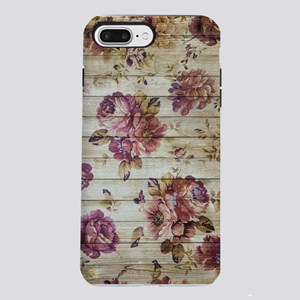 Vintage Romantic Floral W iPhone 7 Plus Tough Case