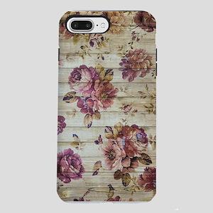 Vintage Romantic Floral W iPhone 7 Plus Tough Case