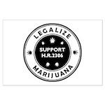 Legal Marijuana Support HR2306 Large Poster