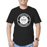 Legal Marijuana Support HR2306 Men's Fitted T-Shir