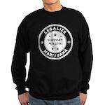 Legal Marijuana Support HR2306 Sweatshirt (dark)