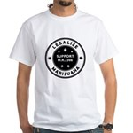 Legal Marijuana Support HR2306 White T-Shirt