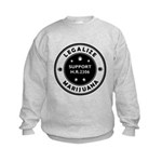 Legal Marijuana Support HR2306 Kids Sweatshirt