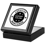 Legal Marijuana Support HR2306 Keepsake Box