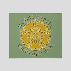 GOT Tyrell Rose Throw Blanket