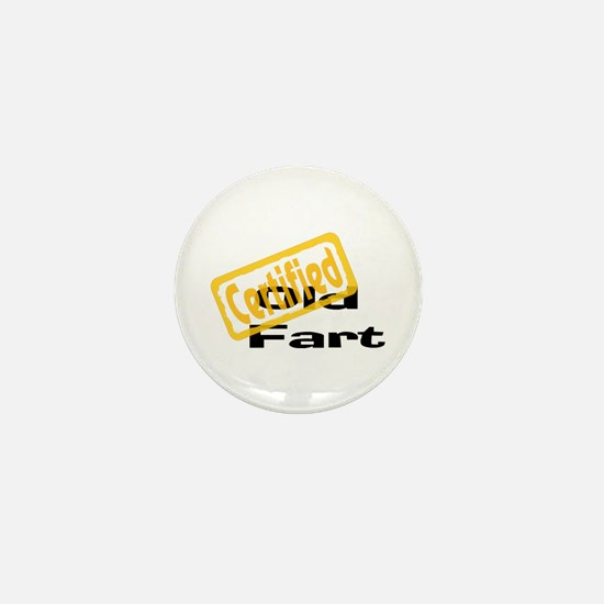 Certified Old Fart Mini Button