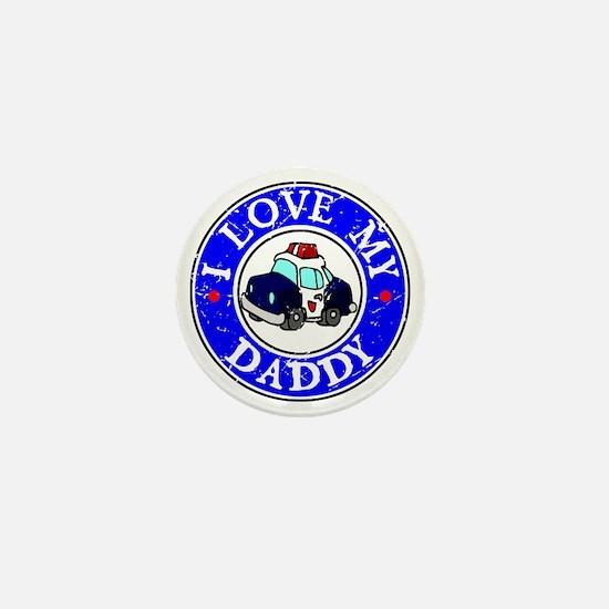 I Love my Daddy Mini Button