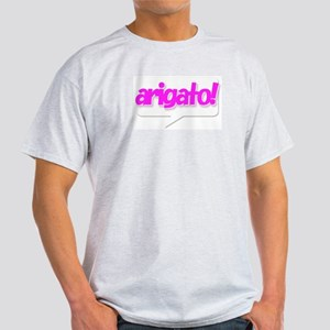arigato Ash Grey T-Shirt