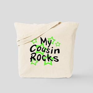 My Cousin Rocks Tote Bag