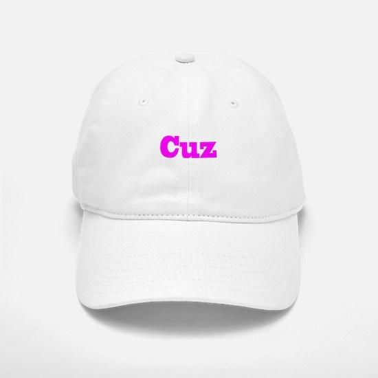 Pink Cuz Baseball Baseball Cap