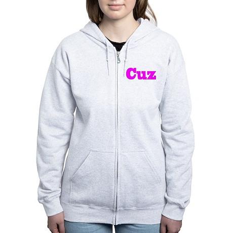 Pink Cuz Women's Zip Hoodie