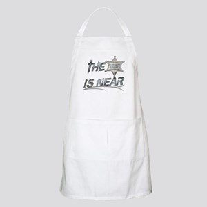 """The Sheriff is near"" Apron"