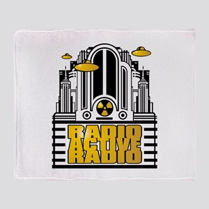 RADIOACTIVERADIO Throw Blanket