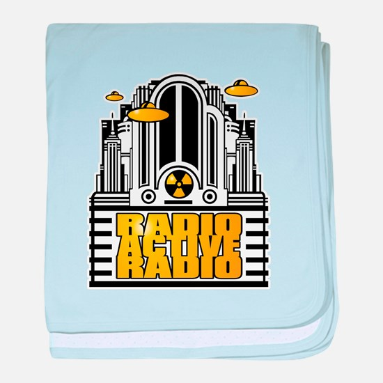 RADIOACTIVERADIO baby blanket
