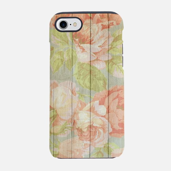 Shabby Chic Country Floral Peo iPhone 7 Tough Case
