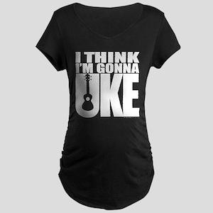 I think I'm gonna UKE Maternity Dark T-Shirt