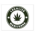Legalize Marijuana Small Poster