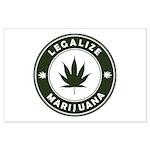 Legalize Marijuana Large Poster
