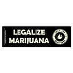 Legalize Marijuana Sticker (Bumper)