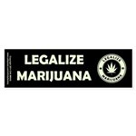 Legalize Marijuana Sticker (Bumper)